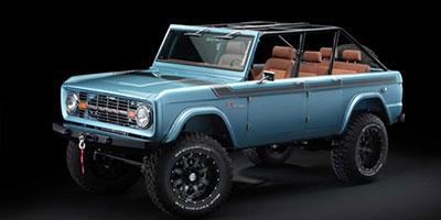Xế cổ Ford Bronco 1966 mạnh 670 mã lực, giá 250.000 USD