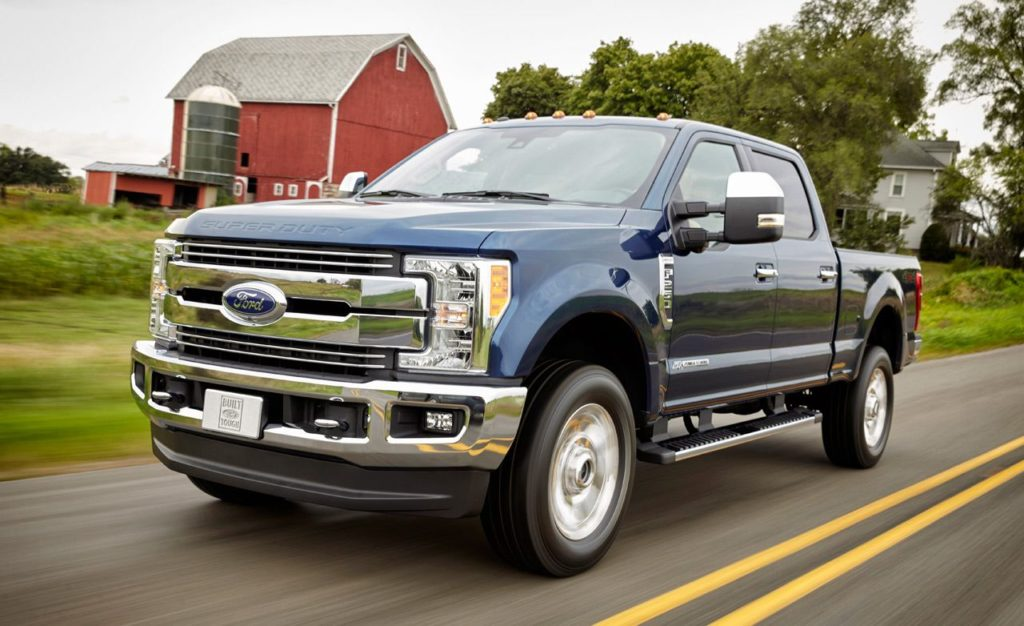 ford f series super duty first drive