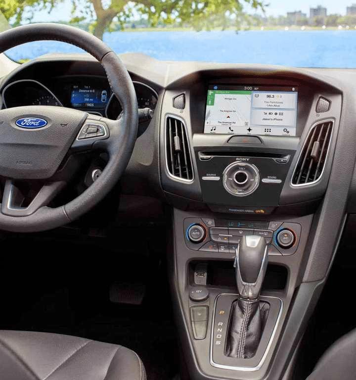 man hinh Ford Focus Titanium 2019