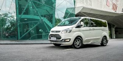 ford tourneo titanium white news