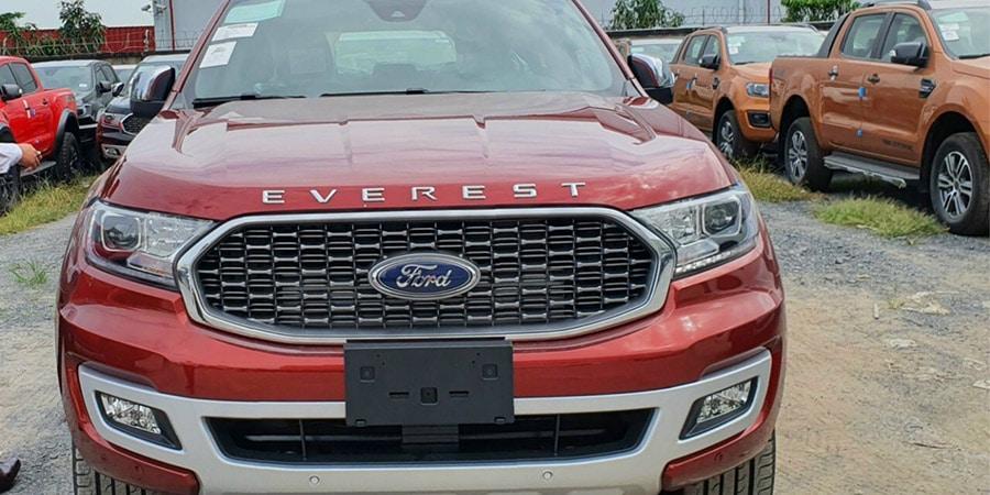 Chi tiết Ford Everest 2021 vừa được ra mắt