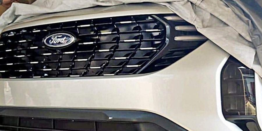 Ford EcoSport 2022 hoàn toàn mới lộ mặt